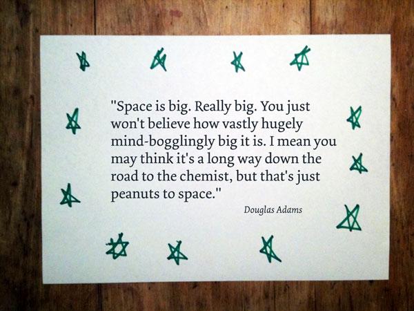 Slide 4: Space